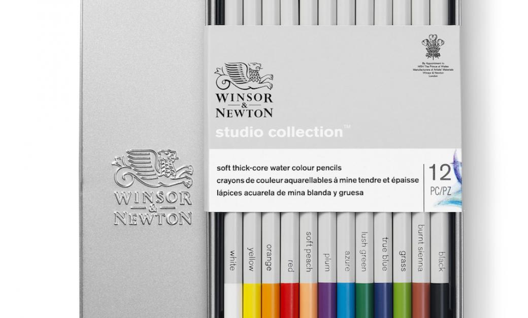 Water colour pencil winsor newton